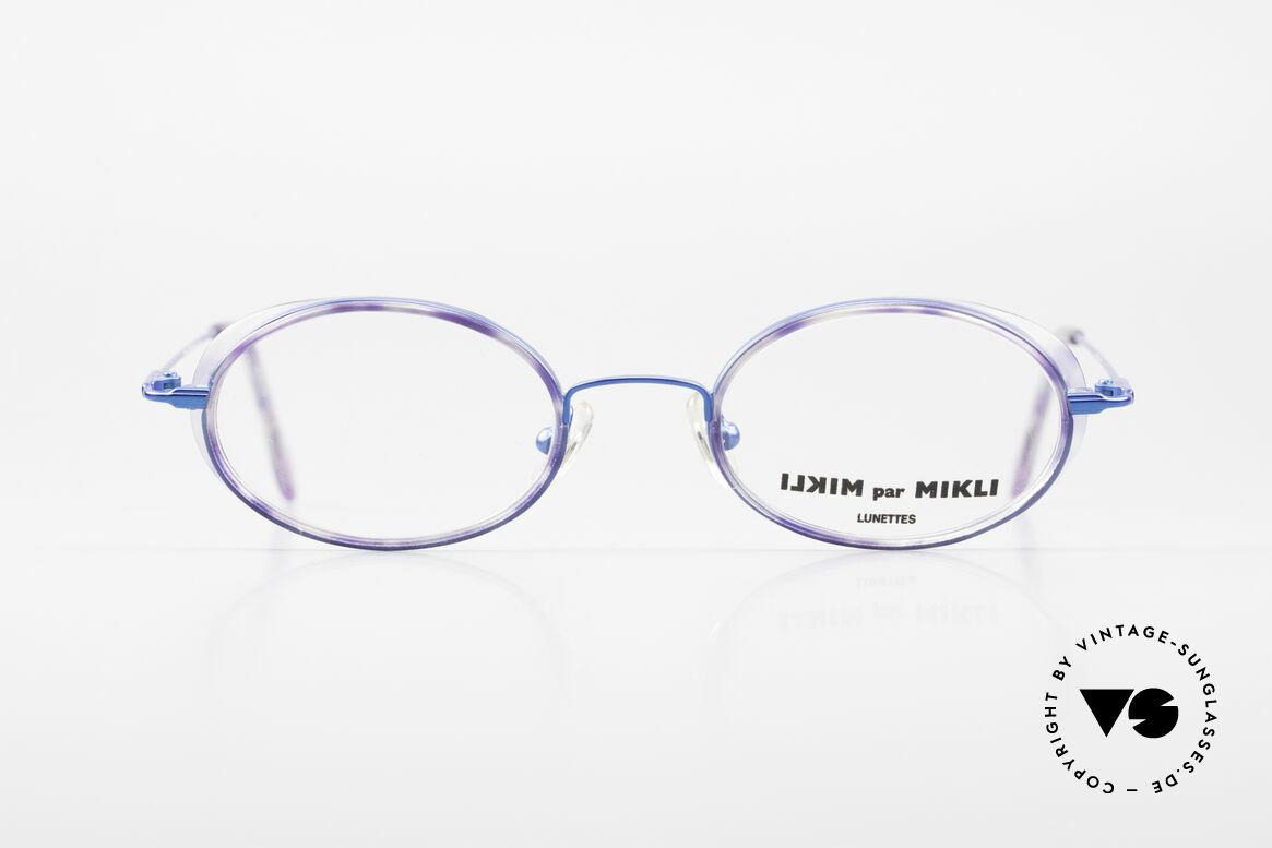 Alain Mikli 6719 / 2403 Designer Ladies Vintage Frame, fantastic color combination of blue & 'purple marbled', Made for Women