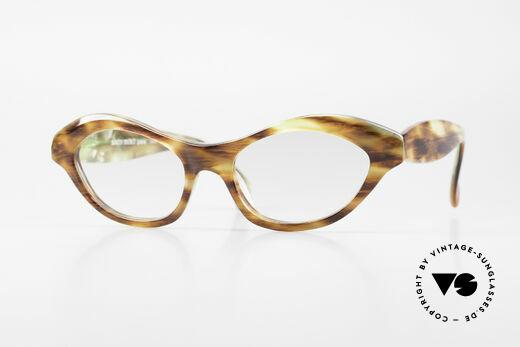 Alain Mikli 2112 / 1036 80's Cateye Designer Shades Details