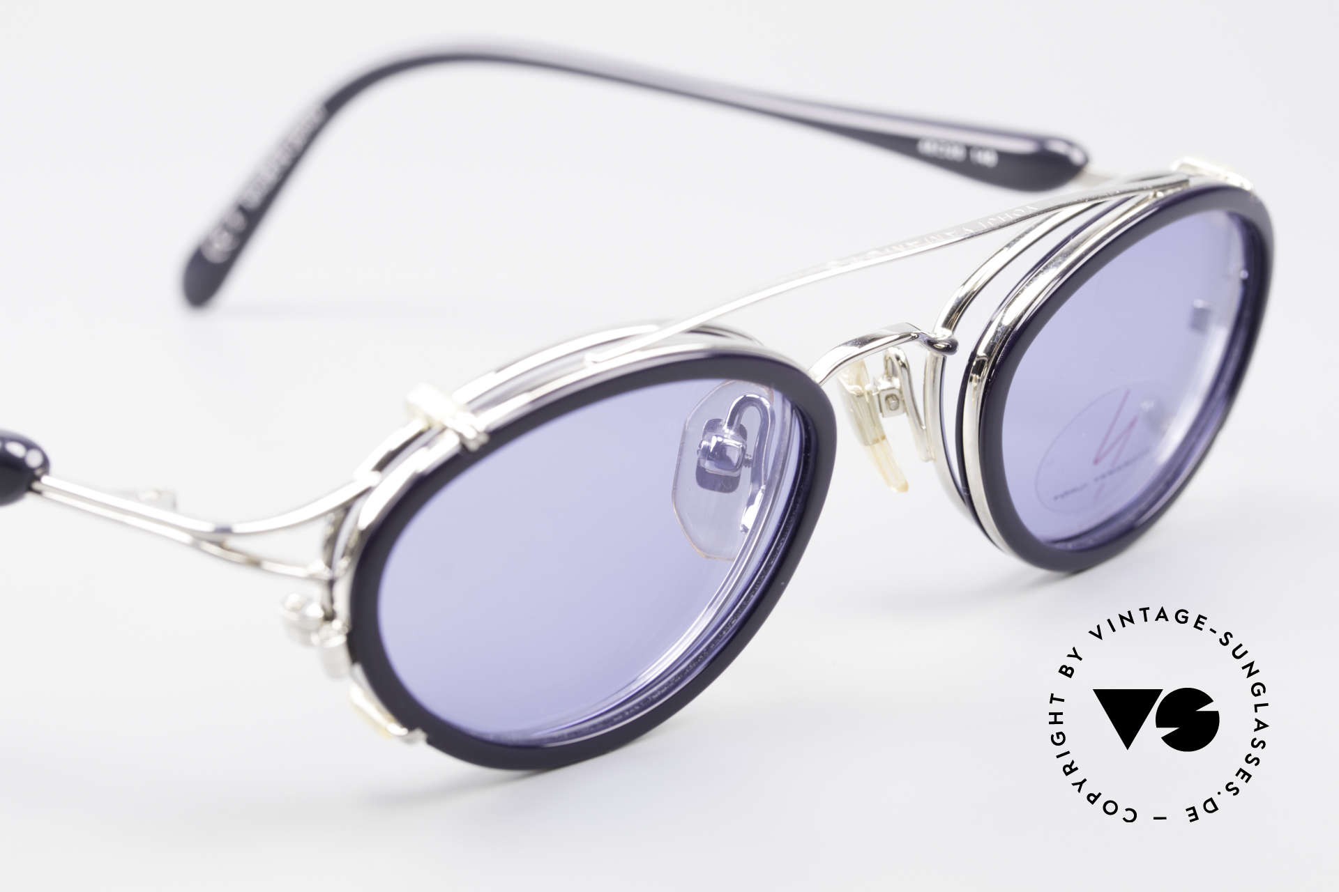 Yohji Yamamoto 51-7210 Clip-On 90's No Retro Shades, NO retro specs, but a 25 years old Yamamoto original, Made for Men and Women