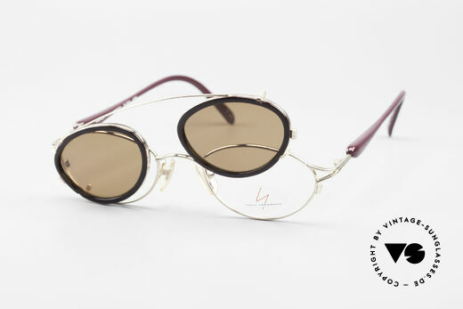 Yohji Yamamoto 51-7210 Clip-On 90's No Retro Frame, frame can be glazed with optical lenses of any kind, Made for Men and Women