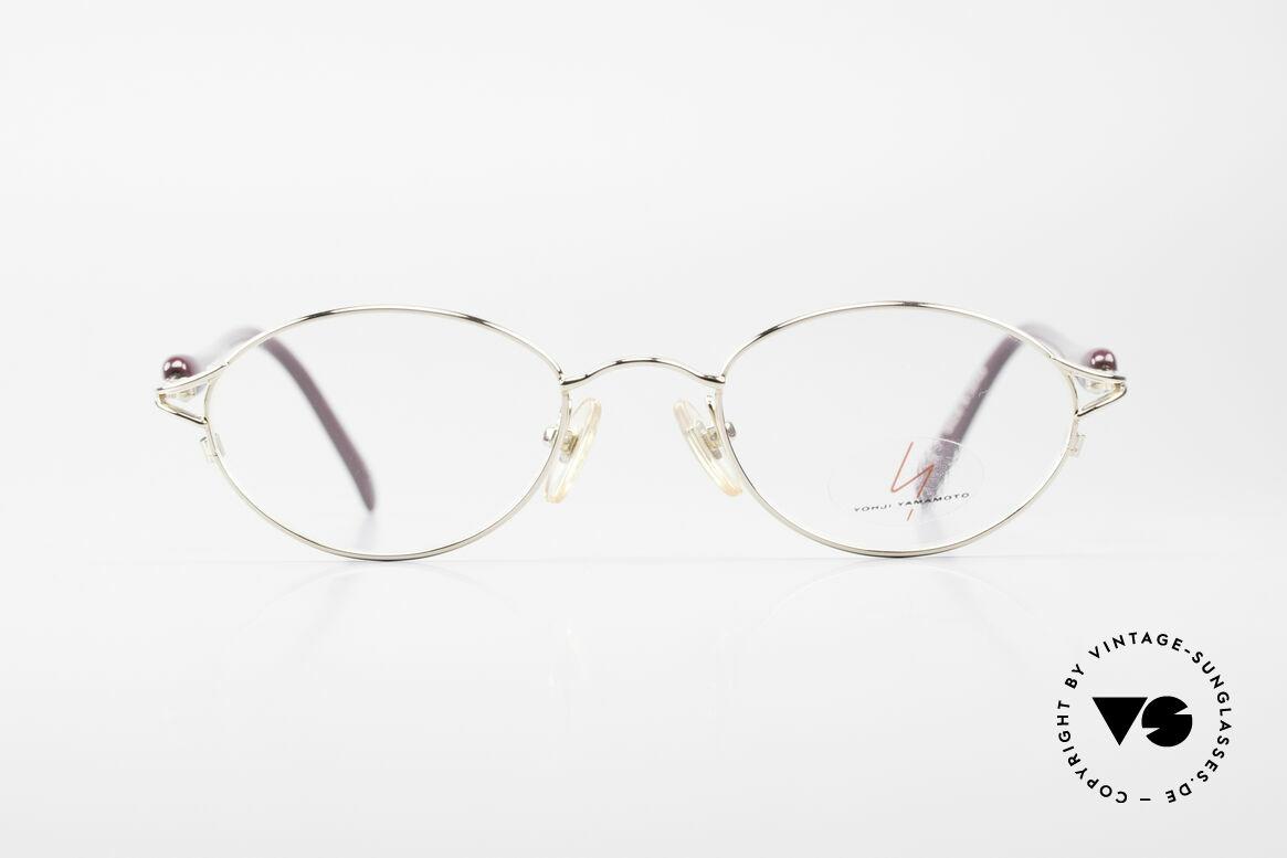 Yohji Yamamoto 51-7210 Clip-On 90's No Retro Frame, Size: small, Made for Men and Women