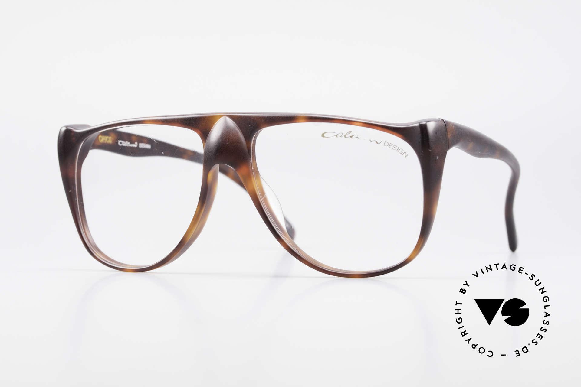 Colani 15-331 Extraordinary Vintage Frame, futuristic Luigi Colani designer eyeglasses of the 80's, Made for Men