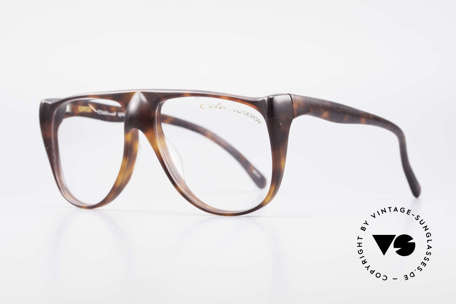 """Colani 15-331 Extraordinary Vintage Frame, slogan: """"The natural world is made up of curved lines"""", Made for Men"""