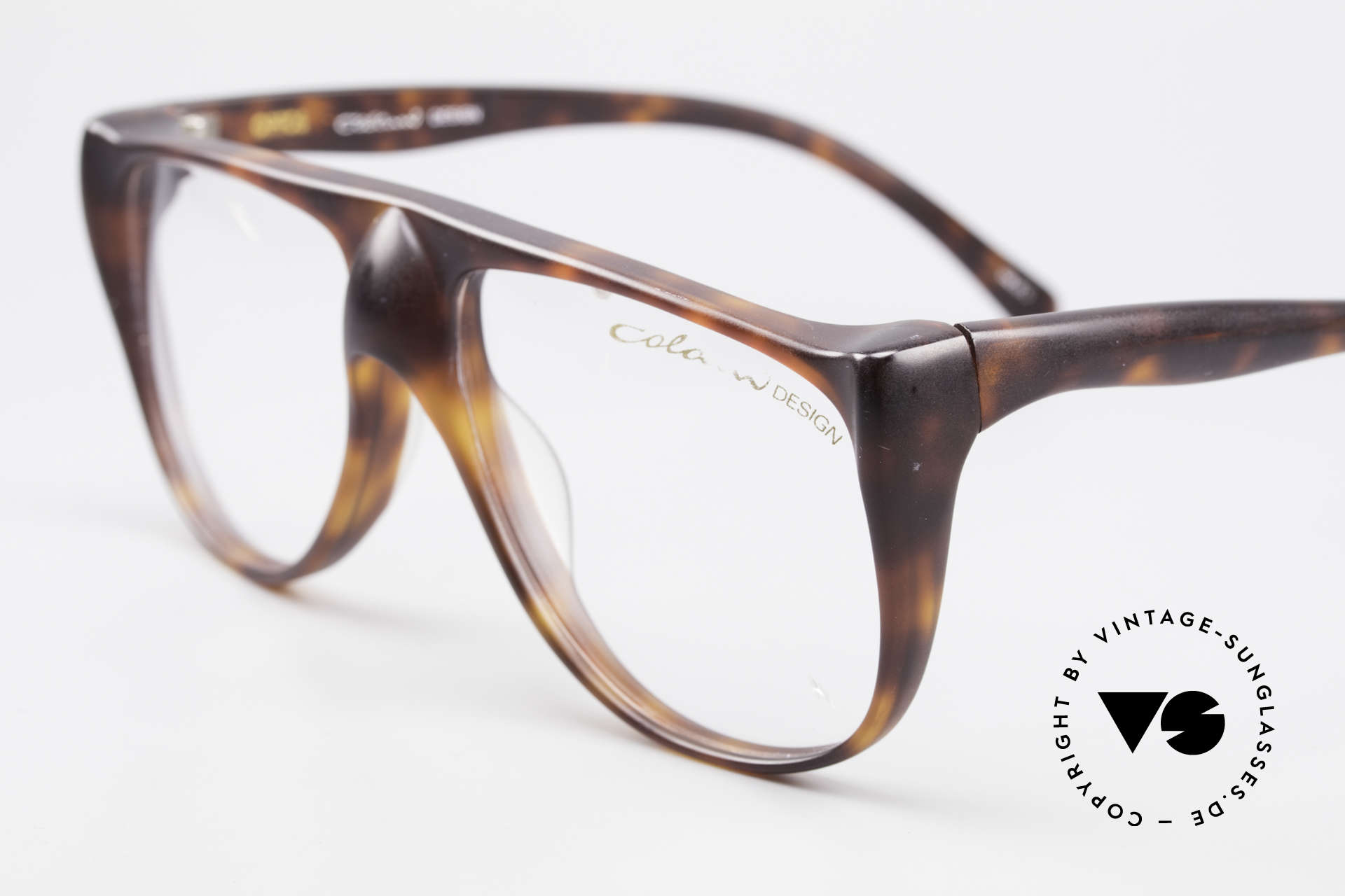 Colani 15-331 Extraordinary Vintage Frame, unworn (like all our rare vintage COLANI eyeglasses), Made for Men