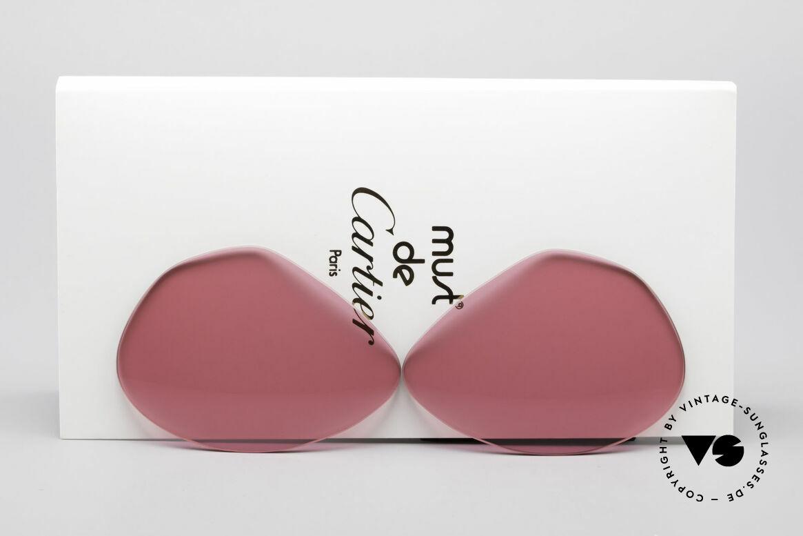 Cartier Vendome Lenses - L Pink Sun Lenses