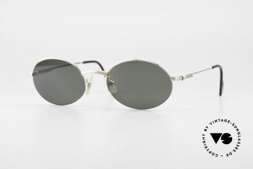 Cartier Manhattan Oval Luxury Platinum Frame Details