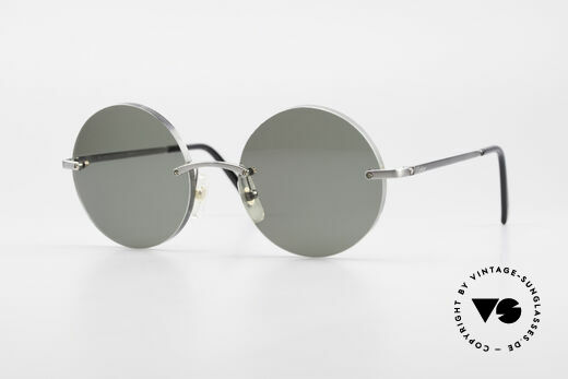 Cartier T-Eye Madison Round Luxury Sunglasses Details