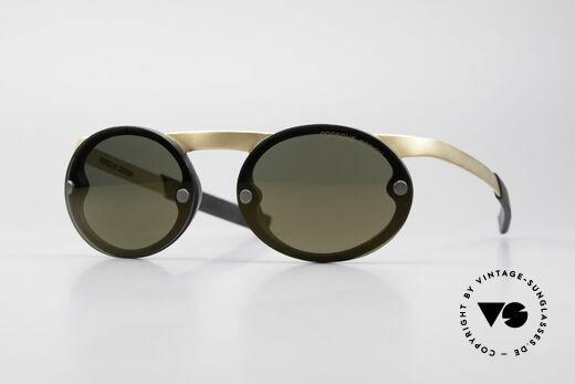 Porsche P0050 Magnetic Sports Sunglasses Details