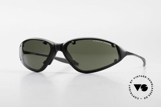 Porsche P0120 Rare 90's Sports Sunglasses Details