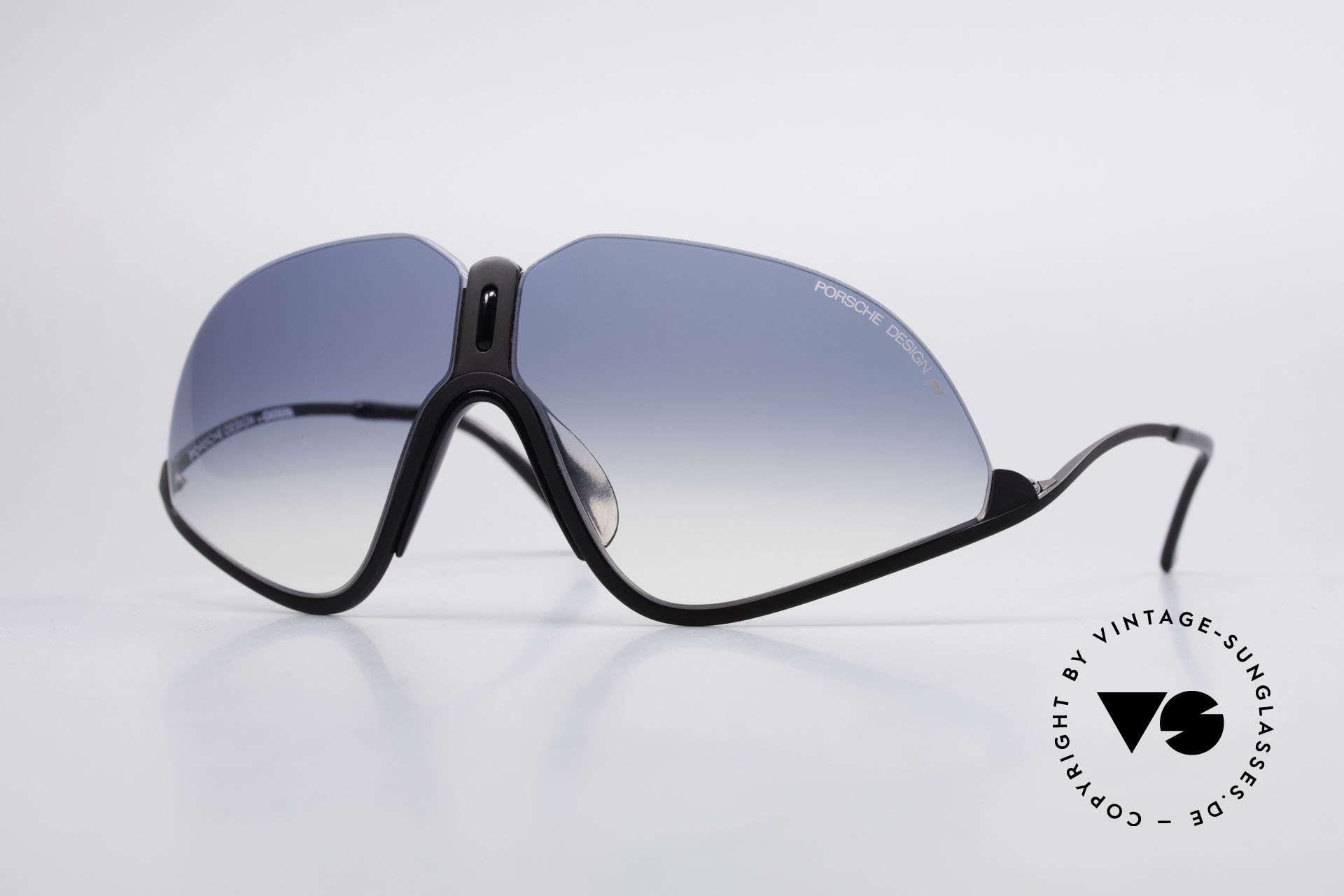 Porsche 5630 90's Designer Sports Shades, rare Porsche Design sunglasses from the early 1990's, Made for Men