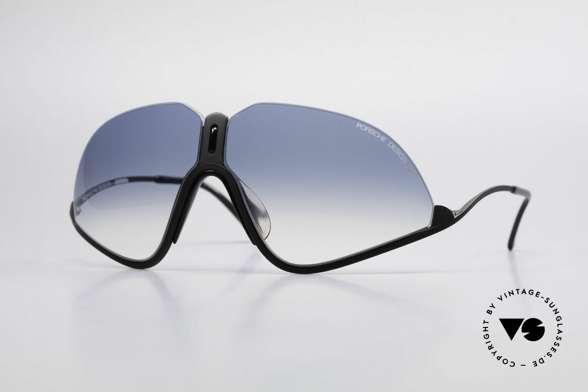 Porsche 5630 90's Designer Sports Shades, rare Porsche Design sunglasses from the early 1990's, Made for Men