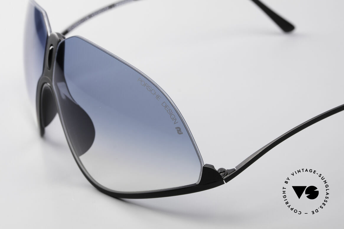 Porsche 5630 90's Designer Sports Shades, perfect fit & high wearing comfort (ergonomic shape), Made for Men