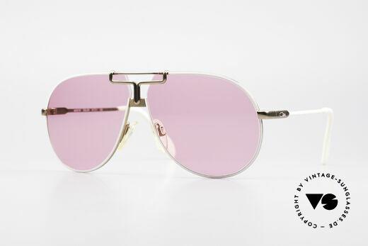 Cazal 731 Vintage Titanium Sunglasses Details