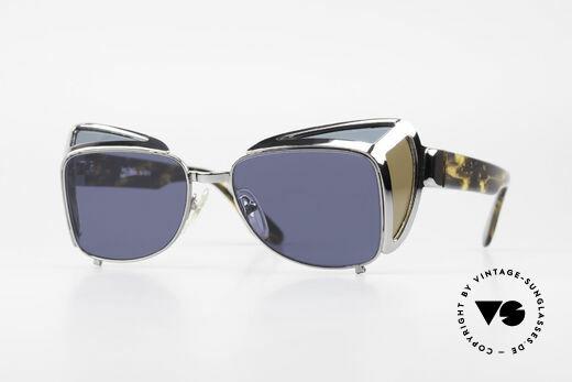 Jean Paul Gaultier 56-9272 Rare Steampunk Sunglasses Details