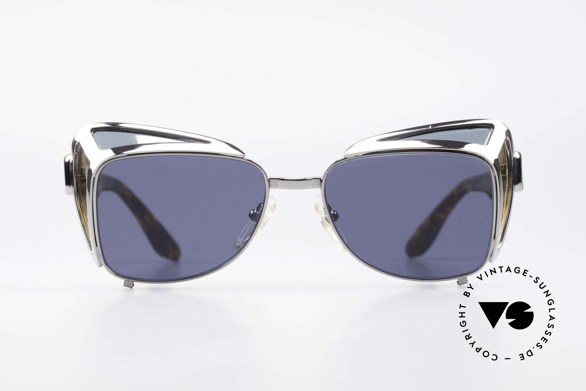 Jean Paul Gaultier 56-9272 Rare Steampunk Sunglasses, very rare designer model (90's limited edition), Made for Men