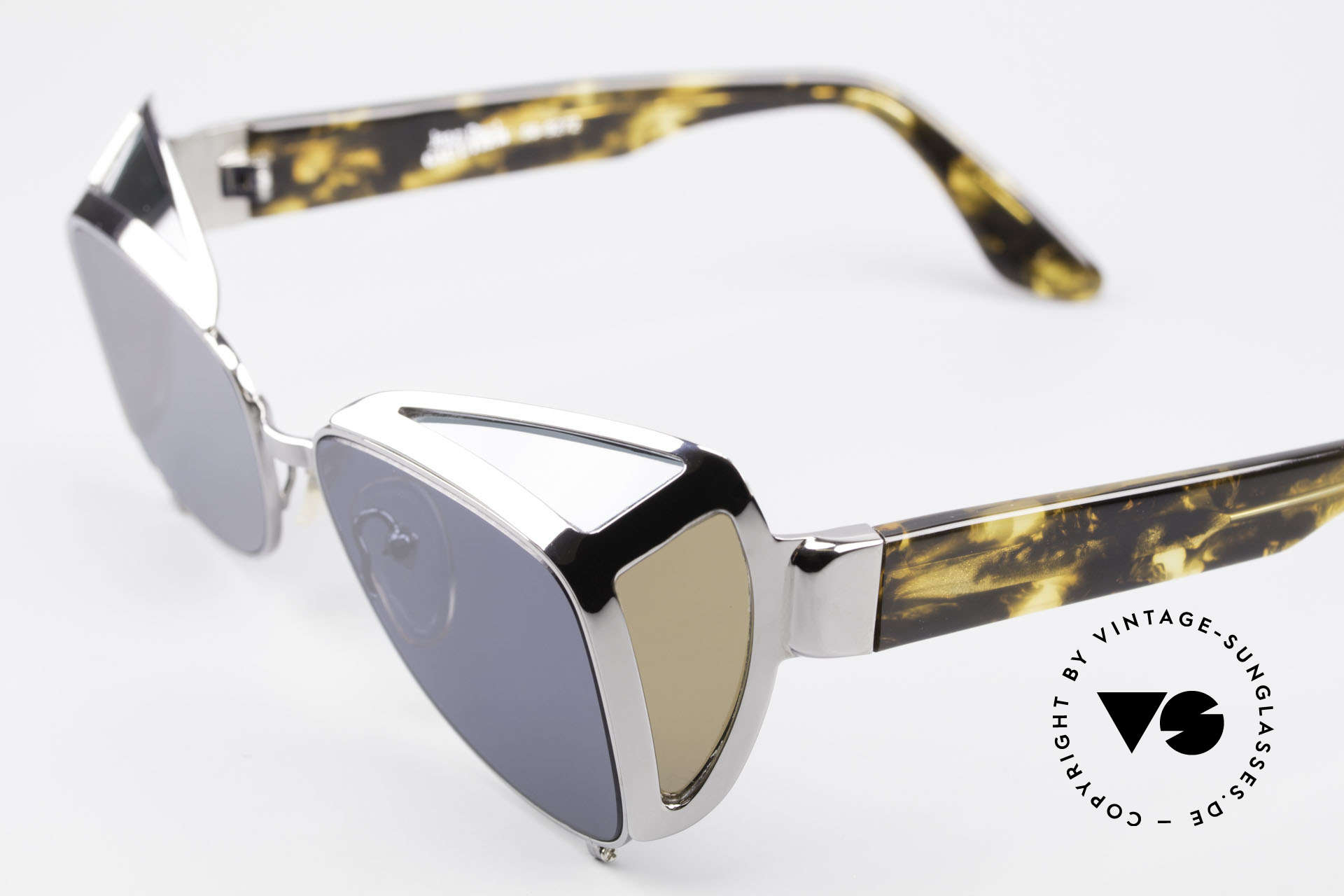 Jean Paul Gaultier 56-9272 Rare Steampunk Sunglasses, unused (like all our Haute Couture sunglasses), Made for Men