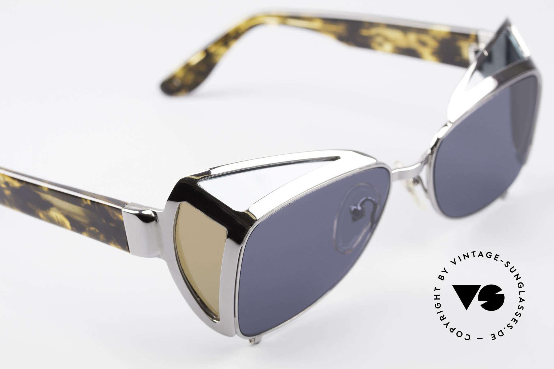 Jean Paul Gaultier 56-9272 Rare Steampunk Sunglasses, NO RETRO sunglasses but an old 90's original!, Made for Men