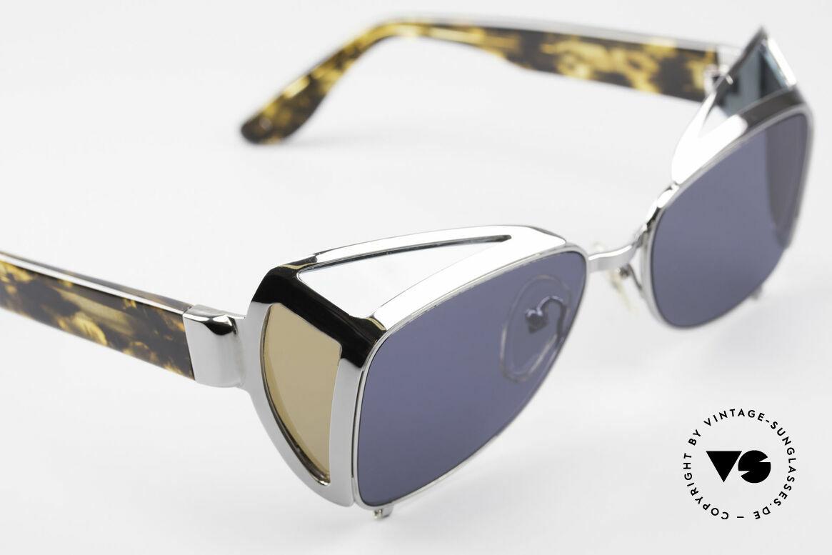 Jean Paul Gaultier 56-9272 Rare Steampunk Sunglasses