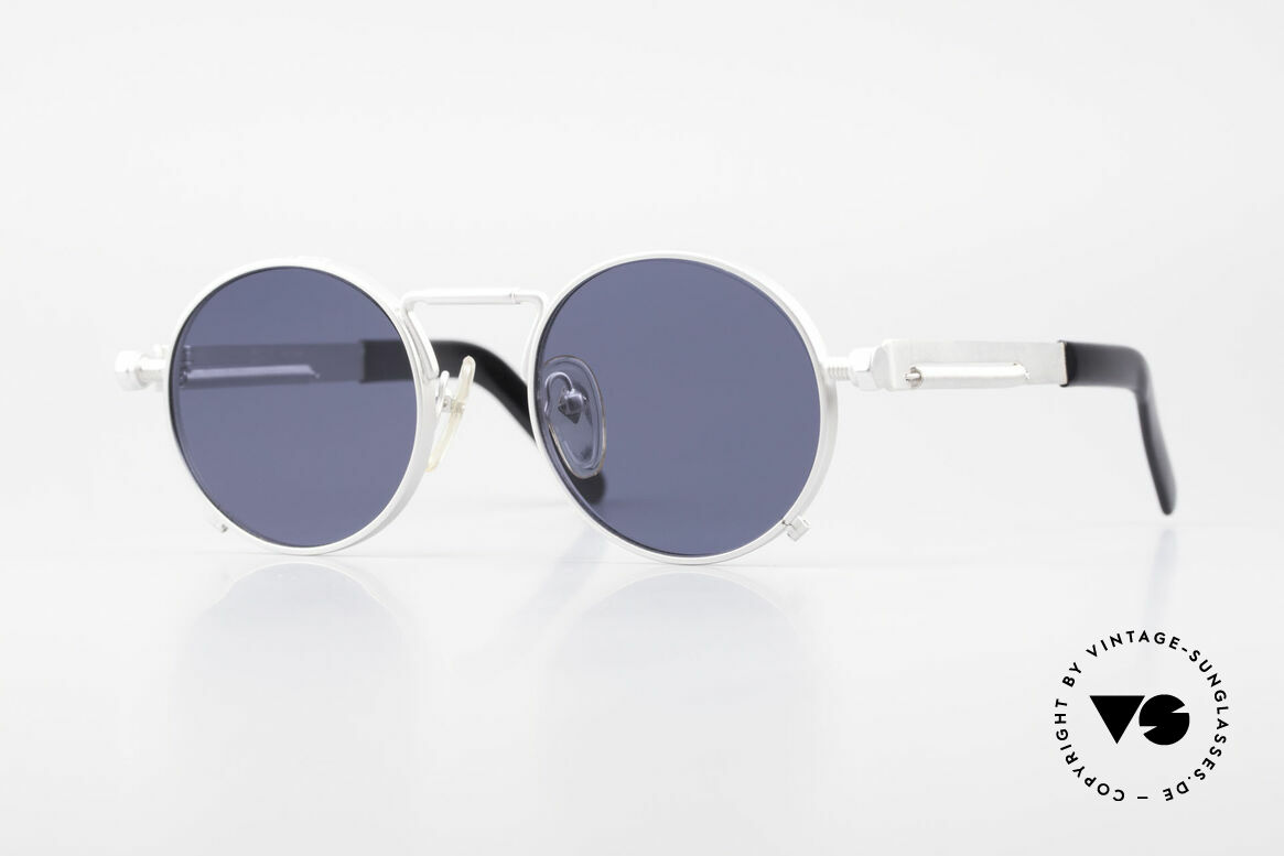 Jean Paul Gaultier 56-8171 Steampunk Vintage Glasses, valuable & creative Jean Paul Gaultier designer shades, Made for Men and Women