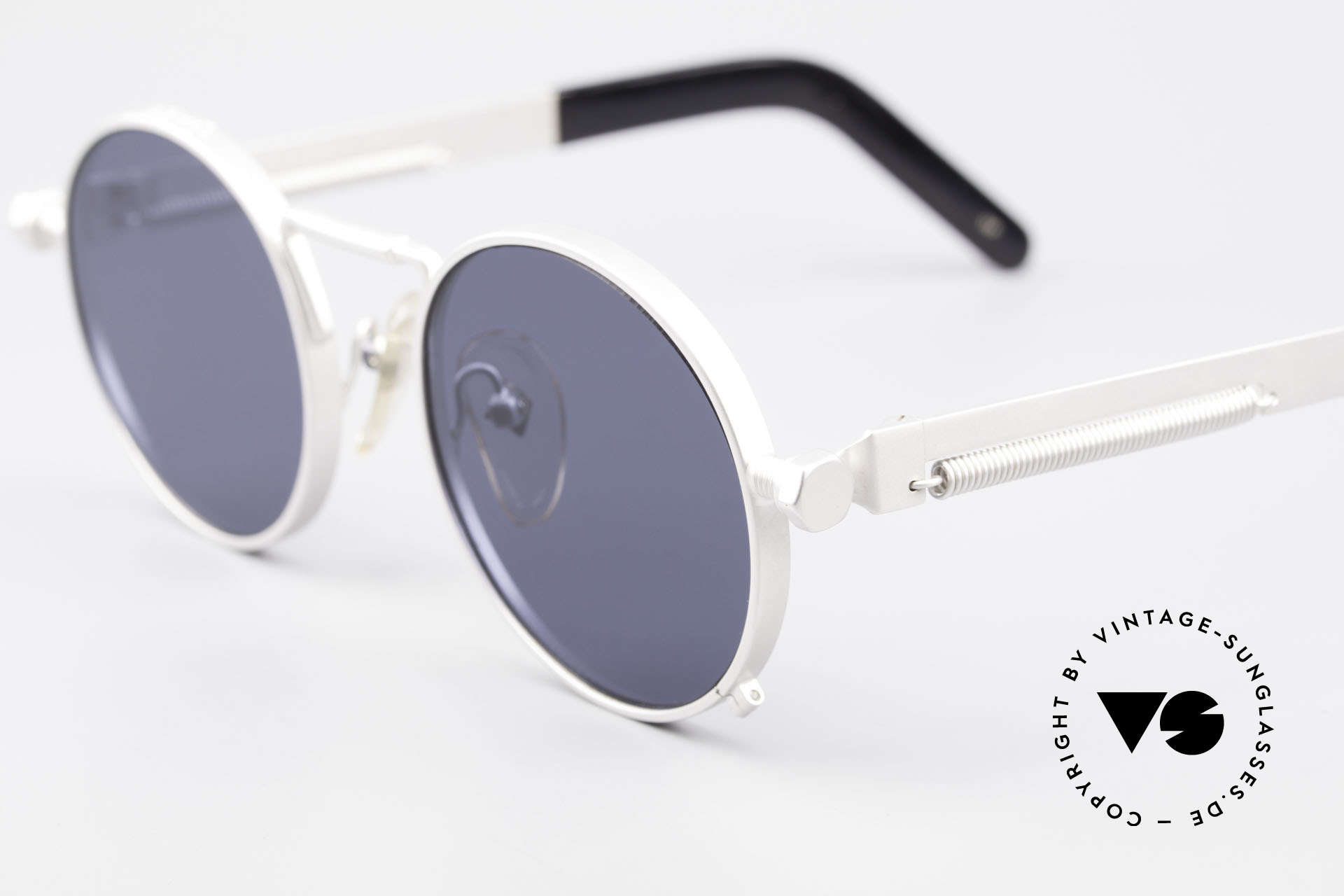 Jean Paul Gaultier 56-8171 Steampunk Vintage Glasses, the most wanted Gaultier vintage sunglasses, worldwide, Made for Men and Women