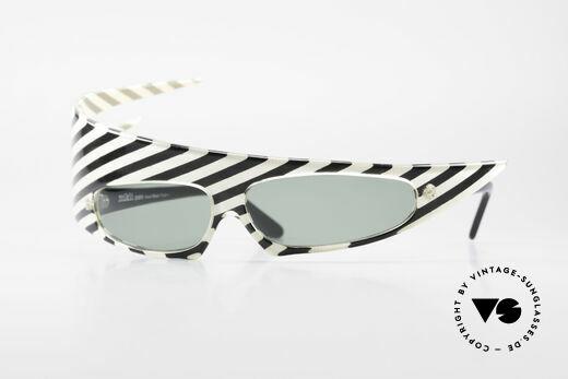 Alain Mikli PLUME Haute Couture Sunglasses 80s Details