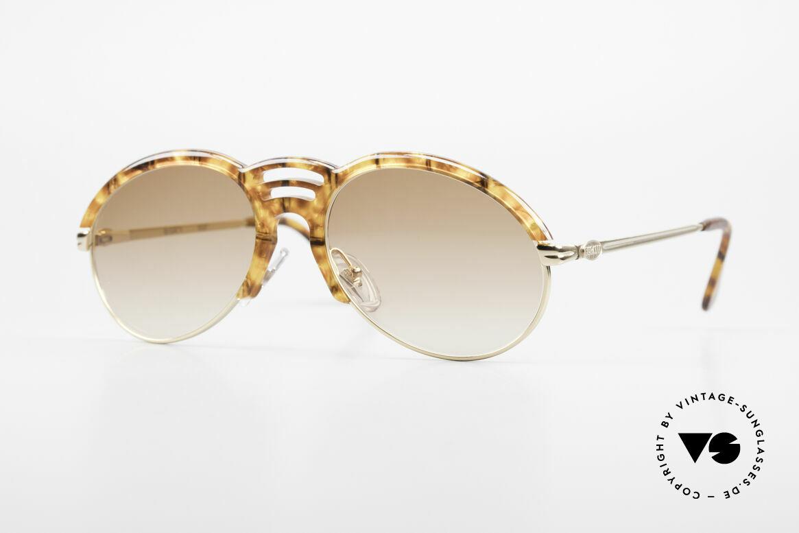 Bugatti 15287 Amber Optic Sunglasses 80's, classic Bugatti designer sunglasses from approx. 1989, Made for Men