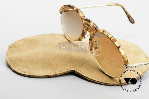 Bugatti 15287 Amber Optic Sunglasses 80's, NO retro sunglasses; but a unique 30 years old rarity, Made for Men