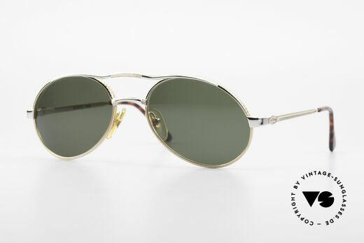 Bugatti 14008 Men's Sunglasses 80's Vintage Details