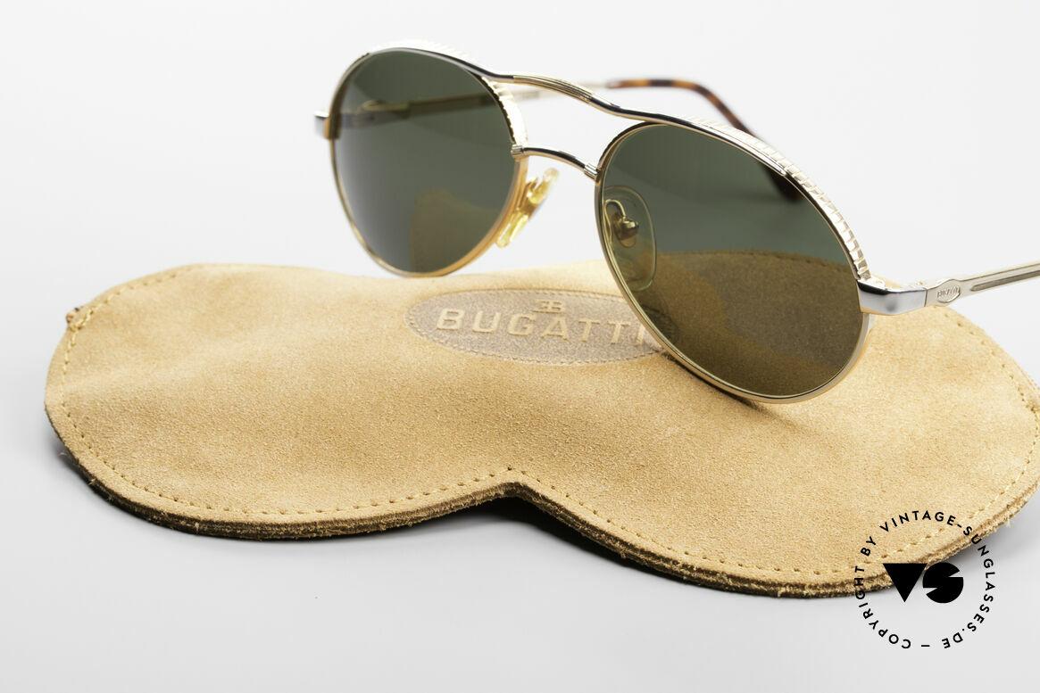 Bugatti 14008 Men's Sunglasses 80's Vintage