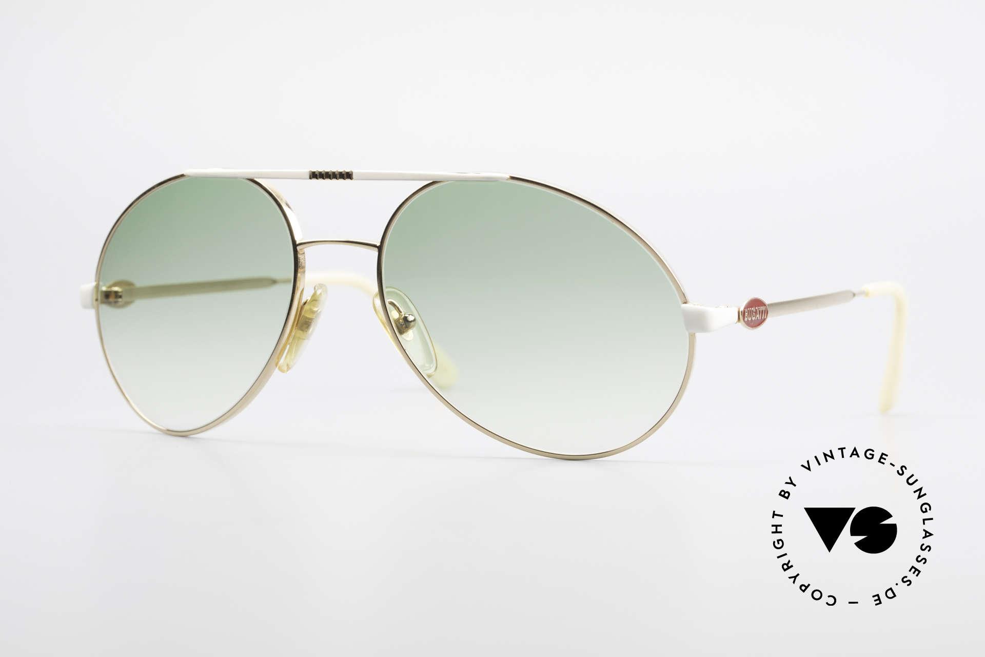 Bugatti 64319 Original 80's Sunglasses Men, rare vintage designer sunglasses by Bugatti, Made for Men
