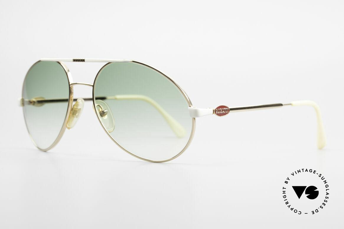 Bugatti 64319 Original 80's Sunglasses Men, best craftsmanship & very pleasant to wear, Made for Men