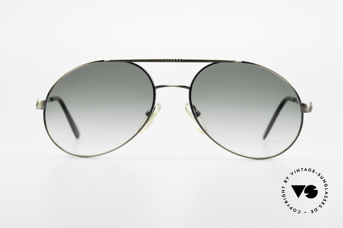 Bugatti 65282 Original 80's Shades No Retro, remarkable frame finish (anthracite / antique metal), Made for Men