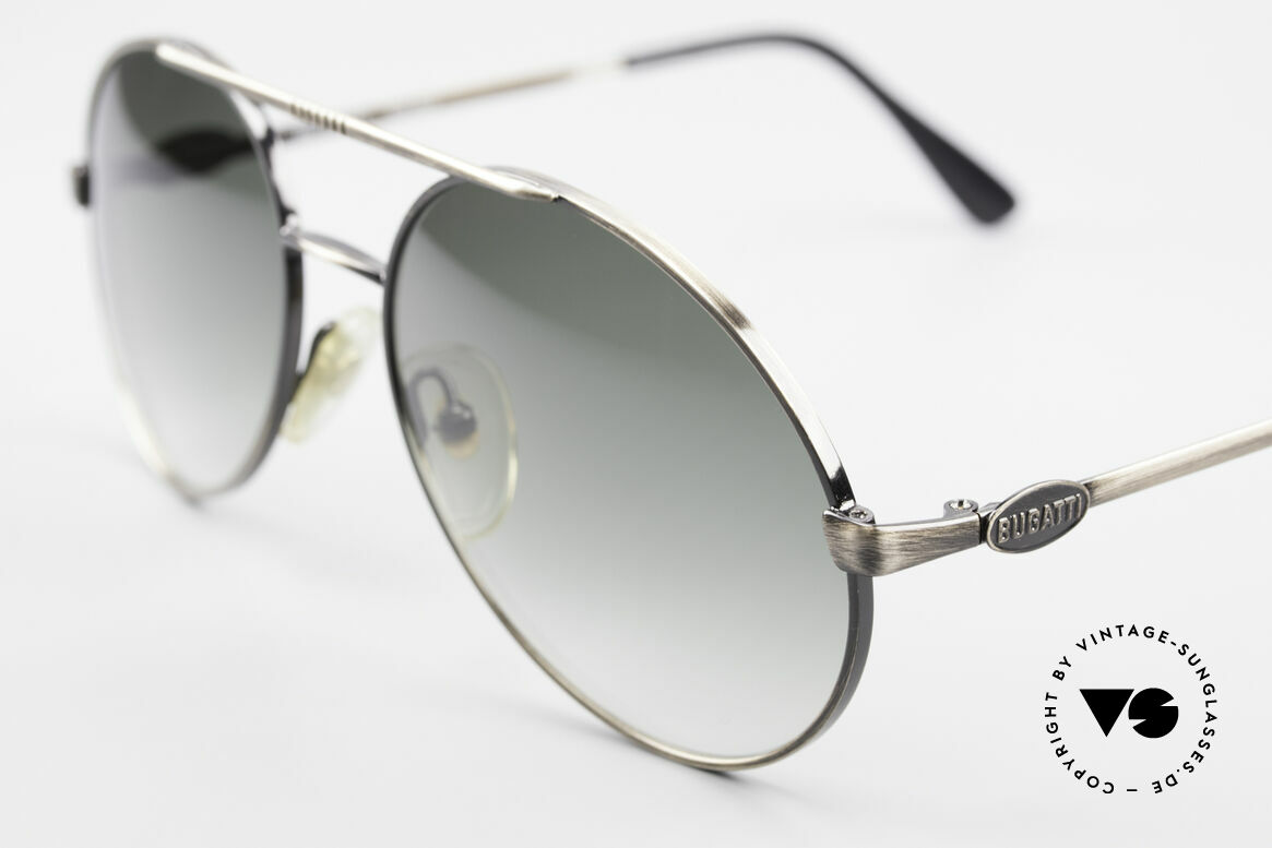Bugatti 65282 Original 80's Shades No Retro, sophisticated 'gentlemen's sunglasses'; one of a kind, Made for Men