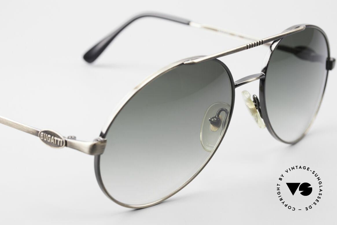 Bugatti 65282 Original 80's Shades No Retro, unworn (like all our old 80's vintage Bugatti shades), Made for Men