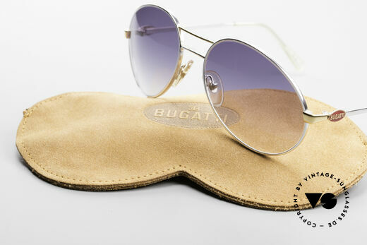 Bugatti 65984 Original 80's Shades No Retro, unworn (like all our vintage Bugatti glasses), Made for Men