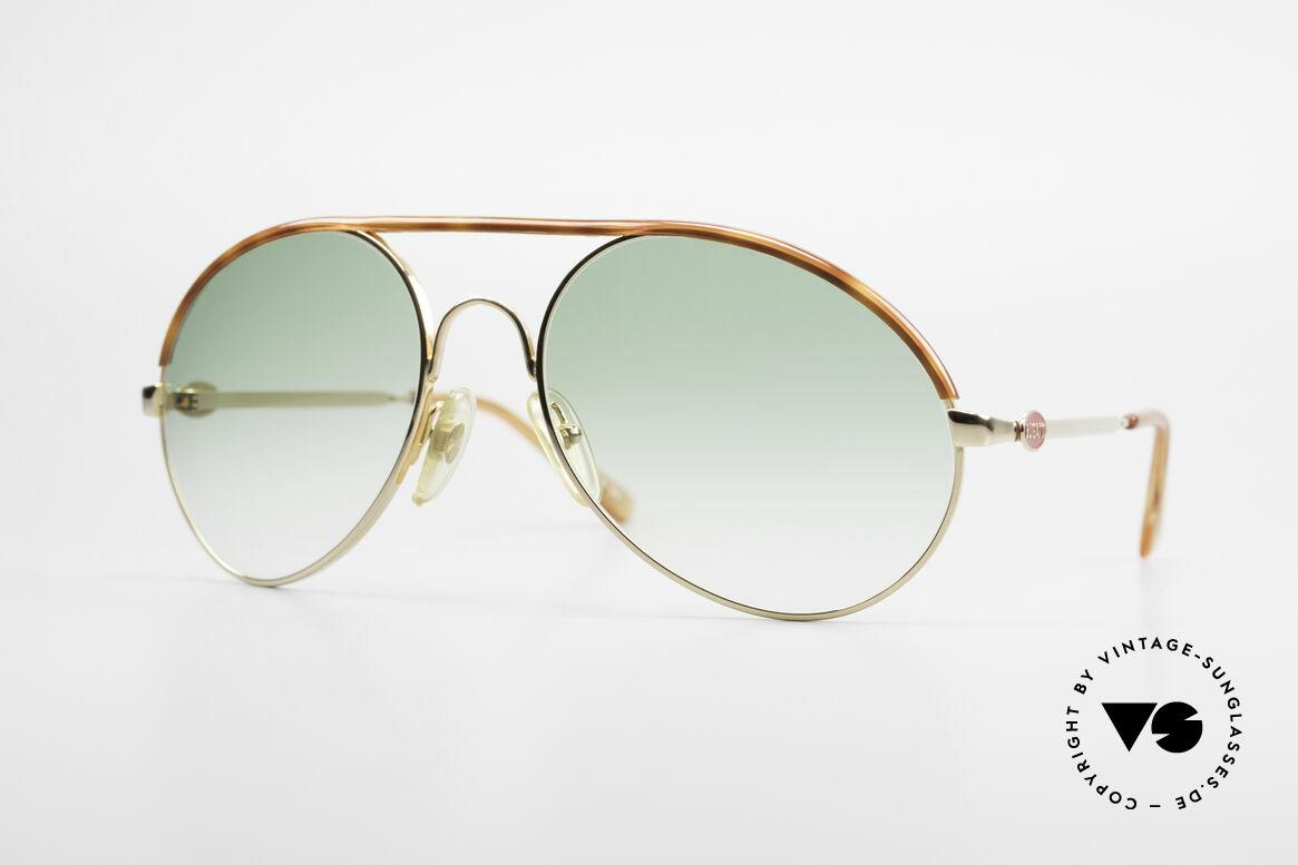Bugatti 65986 Men's 80's XL Sunglasses, classic Bugatti sunglasses from app. 1985/86, Made for Men