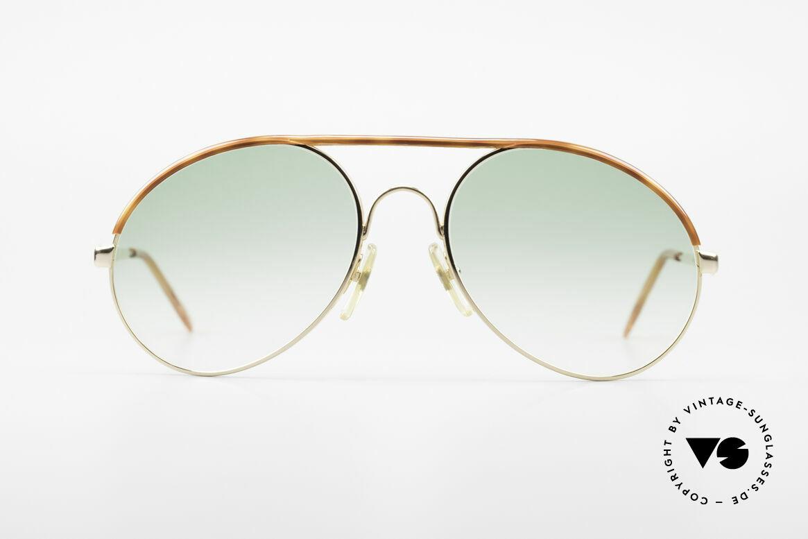 Bugatti 65986 Men's 80's XL Sunglasses, legendary vintage BUGATTI 'tear drop' design, Made for Men
