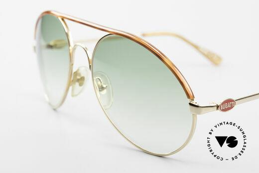 Bugatti 65986 Men's 80's XL Sunglasses
