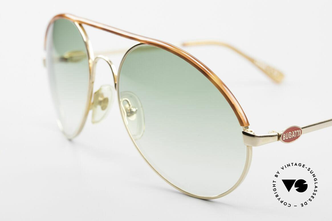 Bugatti 65986 Men's 80's XL Sunglasses, premium craftsmanship in X-LARGE size 58mm, Made for Men