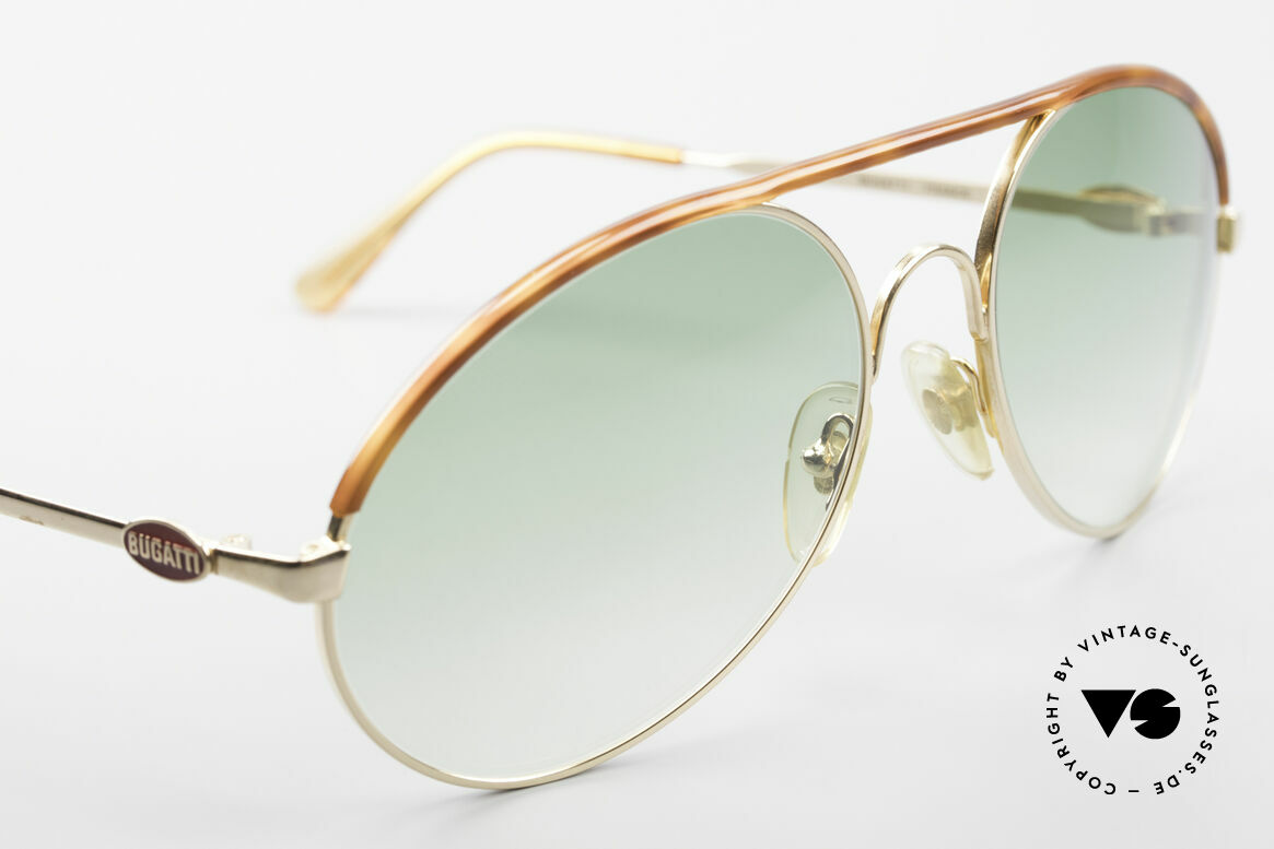Bugatti 65986 Men's 80's XL Sunglasses, unworn (like all our vintage Bugatti eyewear), Made for Men