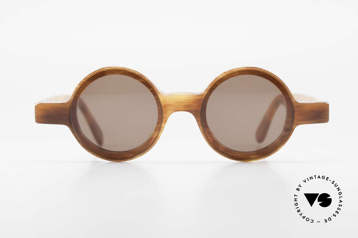 Alain Mikli 0150 / 246 80's Round Designer Shades, small round vintage Alain MIKLI designer shades, Made for Women