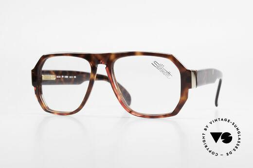 Silhouette M2154 80's Old School Eyeglasses Details
