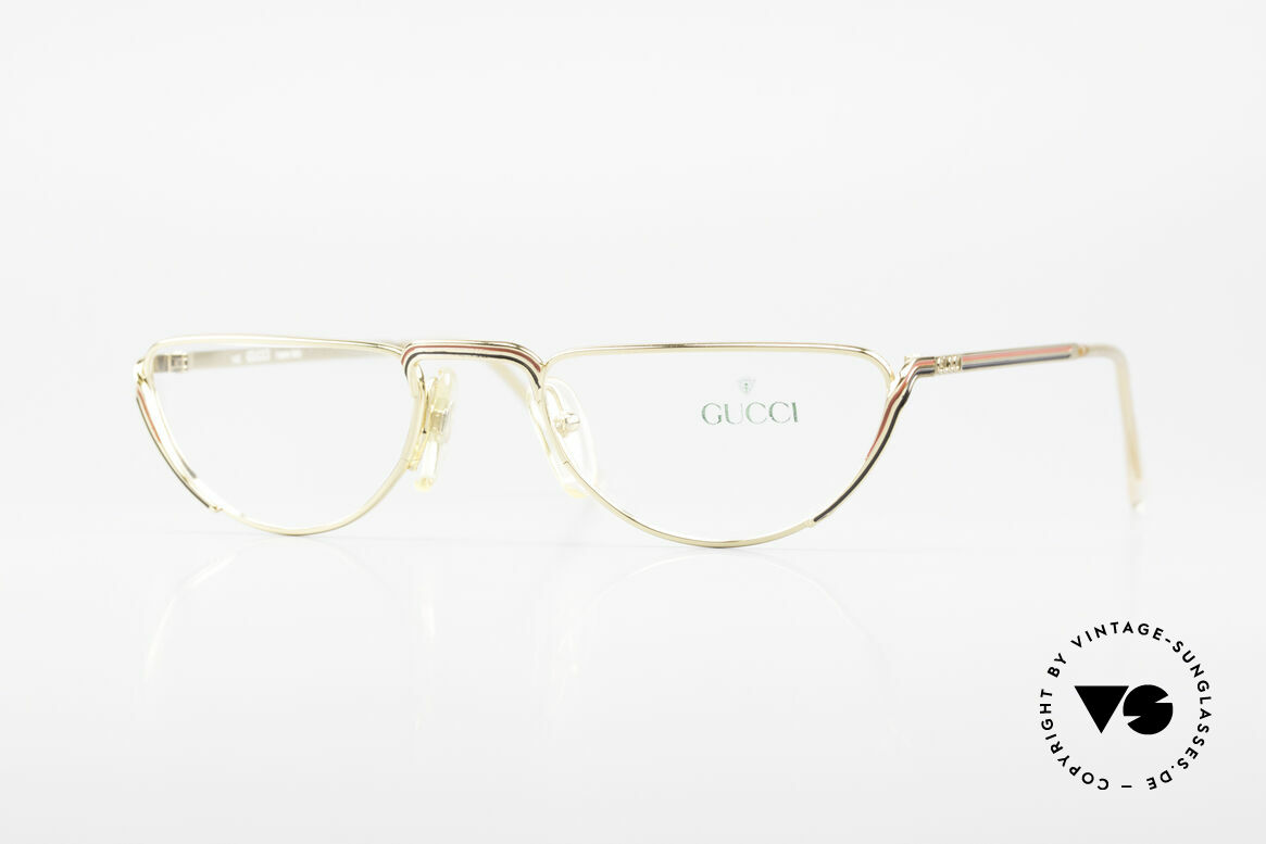Gucci 2203 80's Vintage Reading Glasses, vintage designer reading glasses from the 80's, Made for Women