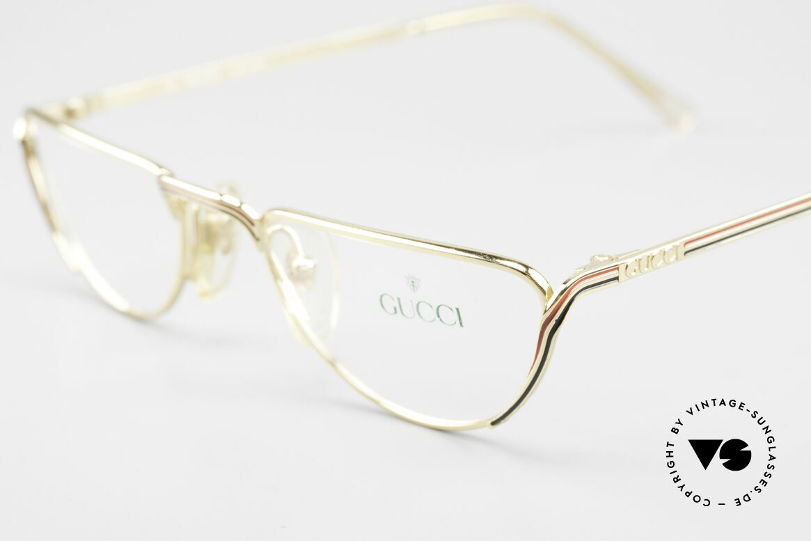 Gucci 2203 80's Vintage Reading Glasses, unworn (like all our vintage GUCCI eyeglasses), Made for Women