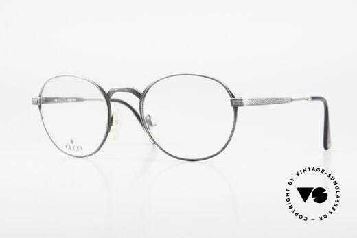 Gucci 1226 Classic 80's Panto Eyeglasses Details