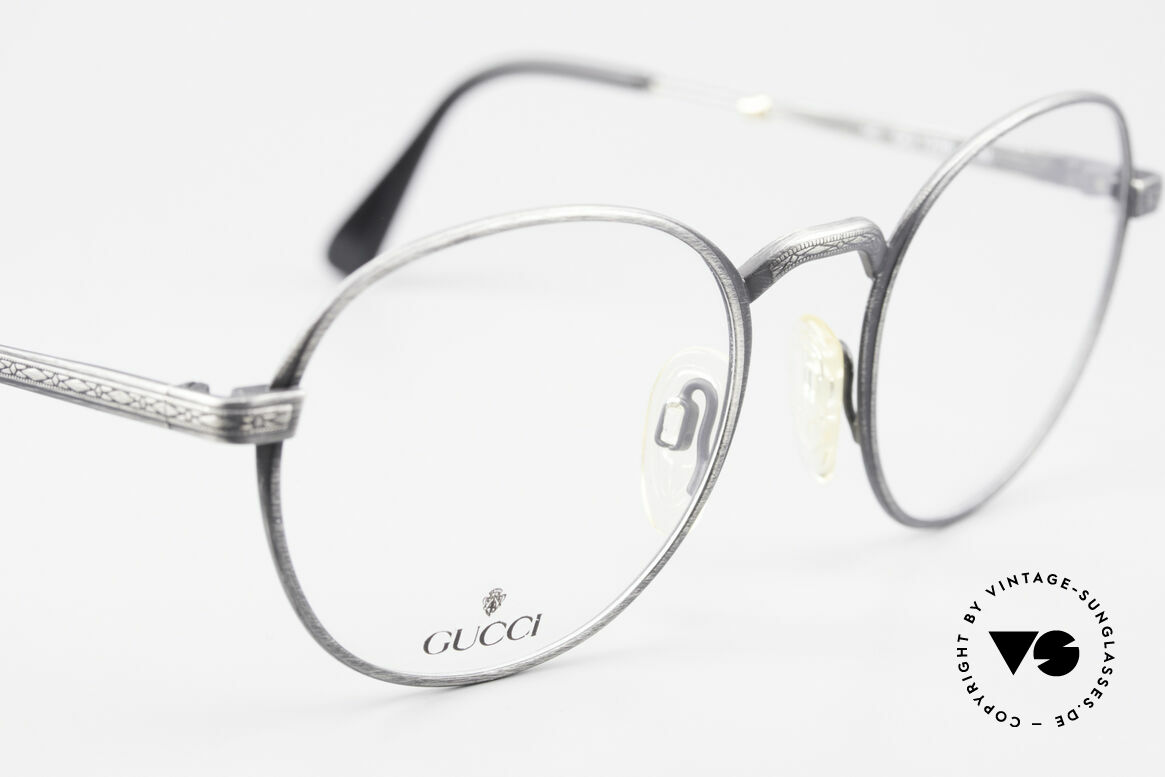 Gucci 1226 Classic 80's Panto Eyeglasses, NO RETRO EYEWEAR; an old Gucci ORIGINAL!, Made for Men and Women
