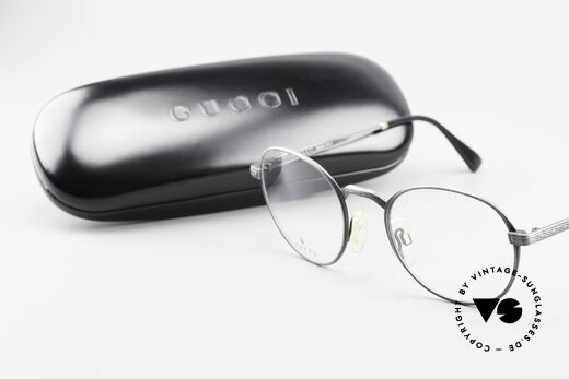 Gucci 1226 Classic 80's Panto Eyeglasses, frame is made for optical lenses or sun lenses, Made for Men and Women