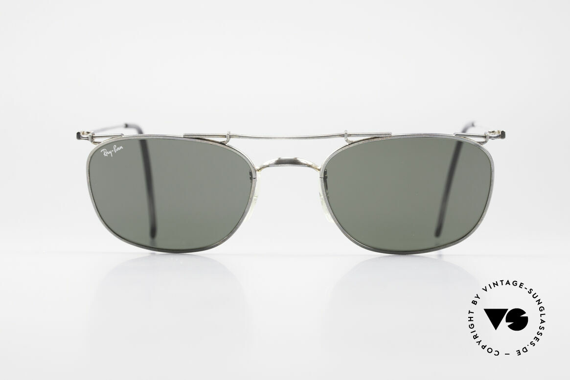 Ray Ban Deco Metals Carre Old B&L USA 90's Sunglasses, vintage 1990's designer-sunglasses; made in U.S.A., Made for Men and Women