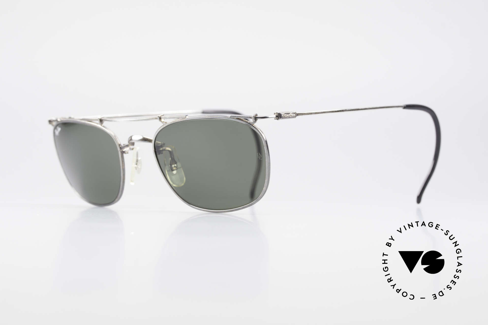 Ray Ban Deco Metals Carre Old B&L USA 90's Sunglasses, perfect fit & very pleasant to wear (1. class quality), Made for Men and Women