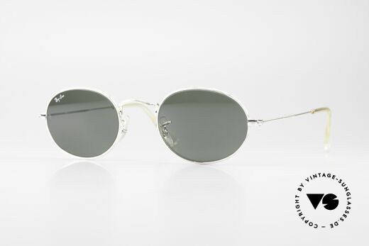 Ray Ban Classic Style I Old Oval B&L USA Sunglasses Details